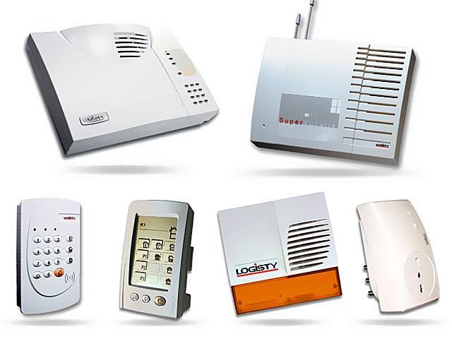 Impianti allarme logisty twinband senza fili for Allarme senza fili